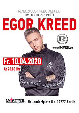 Egor Kreed in Berlin